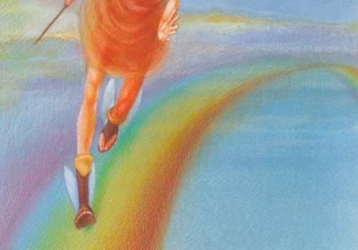 Ίριδα: η θεά των χρωμάτων